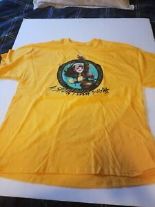 LOOT CRATE EXCLUSIVE ROGUE X-MEN TEE SHIRT YELLOW SIZE XL