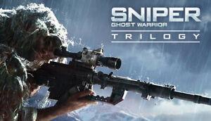Sniper Ghost Warrior Trilogy   Steam Key   PC   Digital   Worldwide