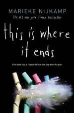 This Is Where It Ends - Hardcover By Nijkamp, Marieke - Very Good