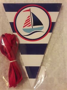 Nautical it's a boy baby shower banner; Nautical Decor; baby on board banner