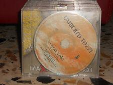 UMBERTO TOZZI - E NON VOLO - cd slim case PROMOZIONALE 2002