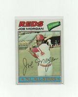 1977 Topps Joe Morgan Baseball Card #100 - Cincinnati Reds HOF