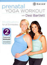 Prenatal Yoga Workout with Desi Bartlett (DVD, 2015) Usually ships in 12 hours!!