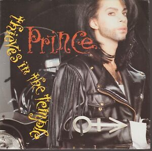 """Prince Thieves In The Temple 45T 7"""" 45 Tours SP Germany"""