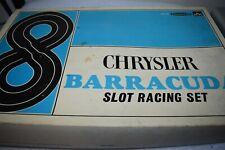 vintage STROMBECKER CHRYSLER BARRACUDA slot car racing set 1:32 DEALER