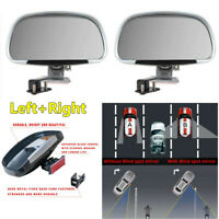 180° Wide Angle Blind Spot Mirror Car Blindspot Towing Reversing Driving Assist