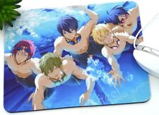 New Anime Free! Mouse Pad, Hollow Slim Square Mat Mousepad For PC
