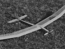Ultra MK IV   86 inch Electrc Sailplane, Balsa Glider, RC AIrplane Prined Plans