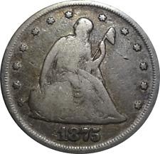 1875-P Seated Liberty Twenty Cent Piece