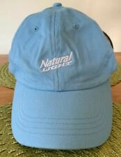 Natural Light Baby Blue Strapback Baseball Hat Cap