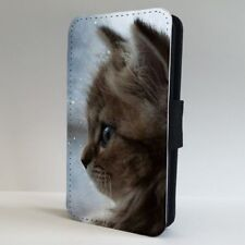 Adorable Kitten Cat Cute FLIP PHONE CASE COVER for IPHONE SAMSUNG