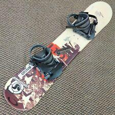 "New listing LTD Hetz Snowboard - 115 cm 45"" Inch Boys Snowboard with LTD Bindings Included"