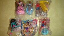 New Never Open 1994 McDonald's Happy Meal Barbies Set of 6 SEALED PACKAGES COOL