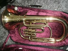 More details for corton tenor horn in original corton carry case