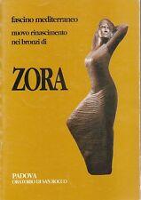 NUOVO RINASCIMENTO NEI BRONZI DI ZORA 2003 FASCINO MEDITERRANEO (UA59)