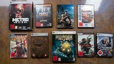 PC Games   Computerspiel Sammlung   Bioshock, Far Cry, Metro, Crysis