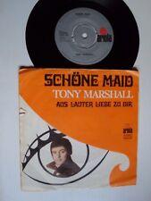 """TONY MARSHALL : Schöne Maid / Aus Lauter Liebe Zu Dir 7"""" Dutch ARIOLA 14 891 AT"""
