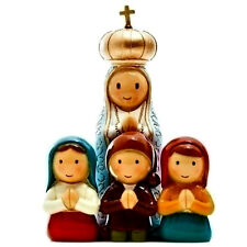 "Mary, Our Lady of Fatima with Children  ""Little Drops Of Water"" Statue NEW"