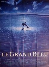 THE BIG BLUE - BESSON / DIVING / DOLPHIN - LE GRAND BLEU - ORIGINAL MOVIE POSTER