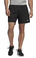 adidas Performance Herren Trainingsshort Essentials Plain Single Jersey schwarz