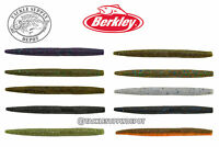 Berkley Powerbait MaxScent The General Worm Senko Style Stick Bait 5in 8pk Pick