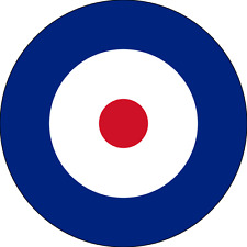 British RAF Plane Roundel ( Type A ) Exterior Vinyl Model Plane Aircraft Decals