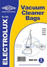5 X Electrolux sacs d'aspirateur E82 & E82N type-Z2273, Z2274, Z2274B, Z2275