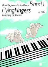 FLYING FINGERS Bd. 1, Hellbach, Lehrgang für Klavier mit 2 CDs - PORTOFREI !