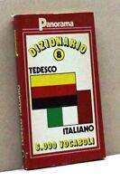 DIZIONARIO TEDESCO-ITALIANO 8 [dizionario, 6000 vocaboli, panorama]