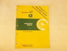 John Deere 675B Skid-Steer Loader Operators Manual
