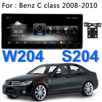 Android 7.1 Car GPS Stereo Navi BT For Mercedes Benz C Class W204 S204 2008-2010