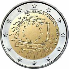 FRANCIA 2 EUROS 2015 - 30 AÑOS DE LA BANDERA DE EUROPA  - SIN CIRCULAR -