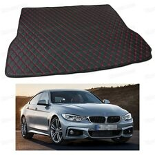 Anti Scrape Leather Car Trunk Mat Carpet for BMW 4-Series Gran Coupe 2015-2017