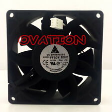 For DELTA FFB0912EHE Strong wind Double ball cooling fan DC 12V 90*90*38mm 3pin