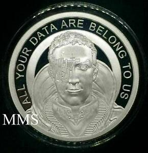 2018 1oz Zuckerborg Proof MiniMintage Silver Shield Group SSG IN STOCK ***