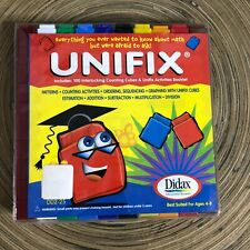 Didax Unifix Cubes 100 Asst Colors Interlocking Counting Cubes Homeschool