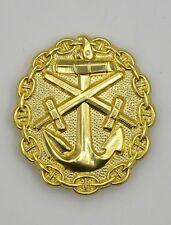 Insigne allemand des blessés Kriegsmarine OR 1914-18 - REPRO qualité