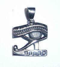 Anhänger Kette HORUSAUGE Talisman Amulett ECHT 925 Silber Schutzsymbol SS109