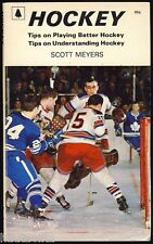 NHL Hockey Tips Book Playing Understanding Meyers Toronto Star 1972 1st Ed WHL