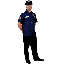 Adult Police Officer Costume By Dress Up America