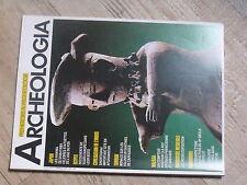 $$a Revue Archeologia N°227 Haniwa Shibayama  Shortughai  Malaga  Bourgogne