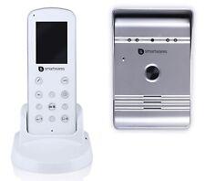 Smartwares VD36W Funk wireless Video-Türsprechanlage Komplett-Set 1 Familienhaus