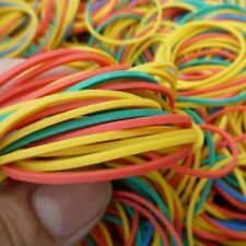 Rubber Bands Strong Elastic Ring Office Stationery Colorful School Supplies 100x