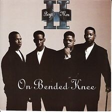 "BOYZ II MEN On Bended Knee PICTURE SLEEVE 7"" 45 rpm record + juke box strip RARE"