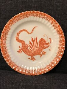 "BEYER & BOCK ROYAL Red Dragon 6"" SIDE PLATE"