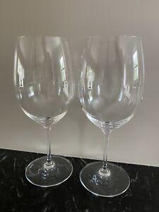 Riedel Tyrol Crystal Fine Wine Glasses/Goblets 20 oz Set of 2 Made in Germany