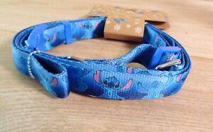 New Primark Disney Stitch Dog Collar & Matching Lead Set 36-51cm up to 20kg