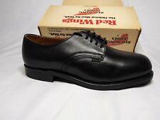 Vintage Red Wing Shoe Vibram Size 9.5 E3 J1 Leather Ansi Z41 Pt83 Steel Toe 4425