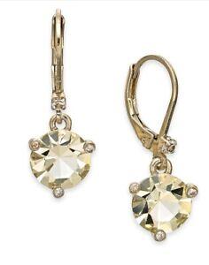 $48  kate spade new york Rise and Shine Jonquil Leverbacks Earrings Z107