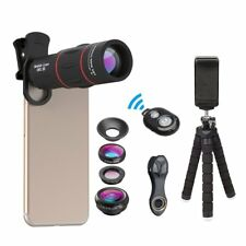 Professional iPhone Mobile Phone Camera Lens Photo Kit Telescope Remote Shutter
